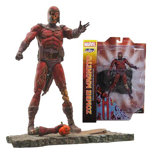 Diamond Select Toys Marvel Select: Zombie Magneto Action Figure - Nerd Arena