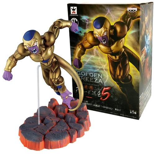 Dragon Ball Z SCultures Zoukei Tenkaichi Budoukai 5 Special Vol.2 Golden Frieza - Nerd Arena