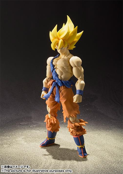 Dragon Ball Z S.H. Figuarts Super Saiyan Son Goku Super Warrior Awakening Ver. - Nerd Arena