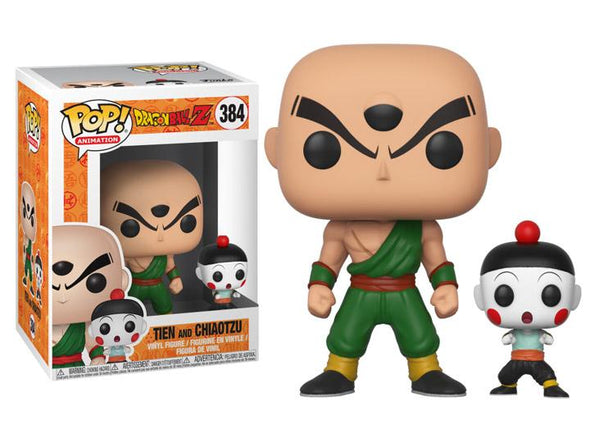 Funko Pop! Animation: Dragon Ball Z - Tien & Chiaotzu - Nerd Arena