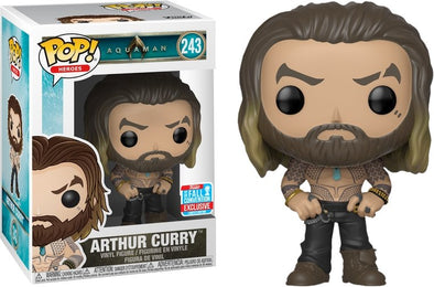 Funko POP! Aquaman: Arthur Curry Fall Convention Exclusive - Nerd Arena