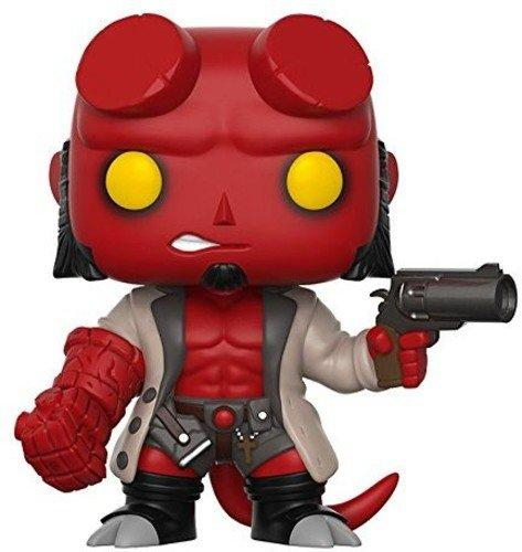 Funko Pop! Comics: Hellboy No Horns Collectible Vinyl Figure - Nerd Arena