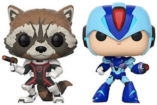 Funko Pop! Games: Marvel Capcom-Rocket Raccoon Vs Megaman Collectible Figure - Nerd Arena