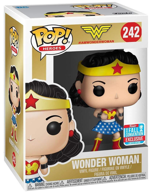 Funko POP! Heroes DC: Wonder Woman- Fall Convention Exclusive - Nerd Arena