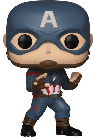 Funko POP! Marvel: Avengers Endgame - Captain America (Hot Topic Exclusive) - Nerd Arena