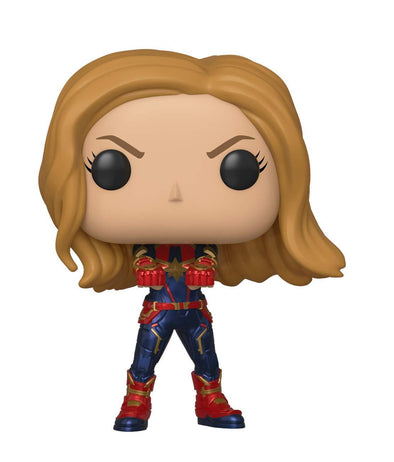 Funko POP! Marvel: Avengers Endgame - Captain Marvel - Nerd Arena