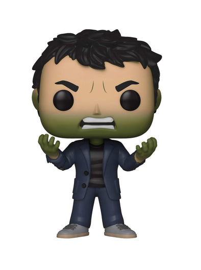 Funko POP! Marvel: Avengers Infinity War - Bruce Banner with Hulk Head - Nerd Arena
