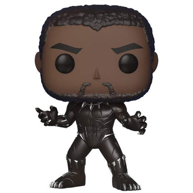 Funko POP! Marvel: Black Panther - Normal and Glow in Dark (Exclusive) - Nerd Arena