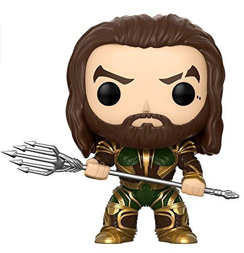 Funko POP! Movies: DC Justice League Aquaman Toy Figure - Nerd Arena