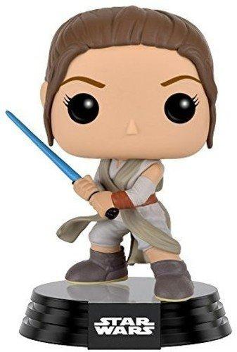 Funko POP! Star Wars: Episode 7: The Force Awakens Figure - Rey with Lightsaber - Nerd Arena