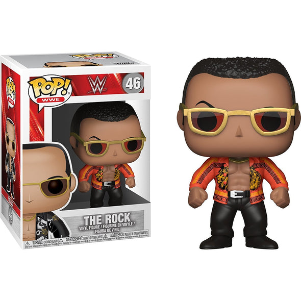 Funko POP! WWE: The Rock - Old School - Nerd Arena
