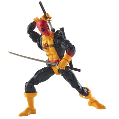 Hasbro Marvel Legends Series Sauron BAF 6-inch Deadpool (X-men Uniform) - Nerd Arena