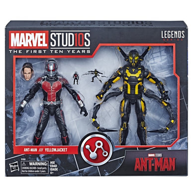Hasbro Marvel Studios: The First Ten Years Ant-Man Ant-Man and Yellow-Jacket Action Figure 2-pack - Nerd Arena