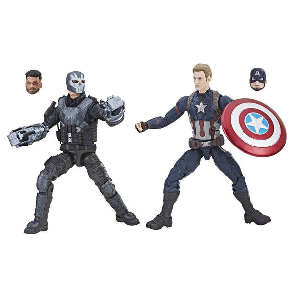 Hasbro Marvel Studios: The First Ten Years Captain America: Civil War Captain America and Crossbones - Nerd Arena