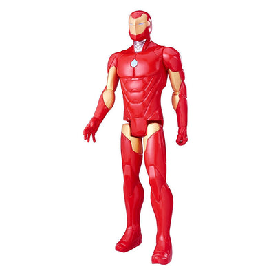 HASBRO MARVEL TITAN HERO SERIES 12-INCH IRON MAN FIGURE - Nerd Arena