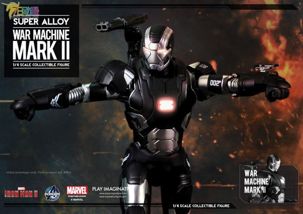 Iron Man 3 Super Alloy War Machine Mark II 1/4 Scale Figure - Nerd Arena