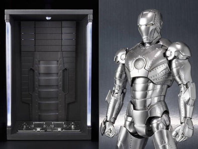 Iron Man S.H.Figuarts Iron Man Mark II & Hall of Armor Set - Nerd Arena