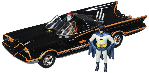 Jada 1:24 1966 Classic TV Series Batmobile with Batman and Robin figures (2 Piece) - Nerd Arena