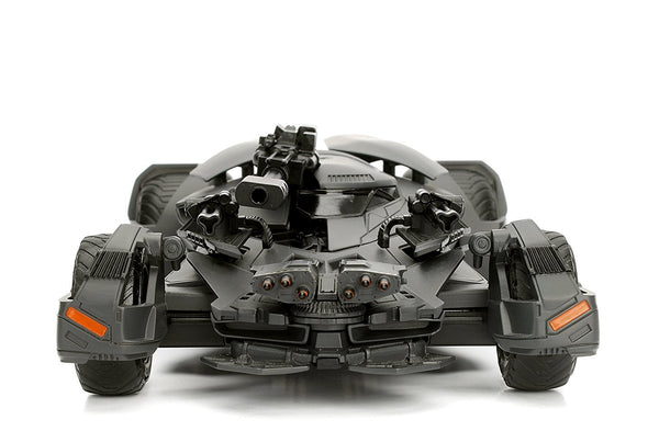 Jada 1:24 2017 Justice League Batmobile W/Batman - Nerd Arena