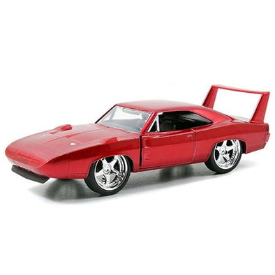 Jada 1:32 Scale - Fast & Furious 1969 Dodge Charger Daytona - M.Red Metal Die Cast - Nerd Arena
