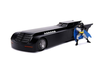 Jada Toys 1: 24 Scale Animated Series Batmobile Diecast Vehicle with Batman Figure - Nerd Arena