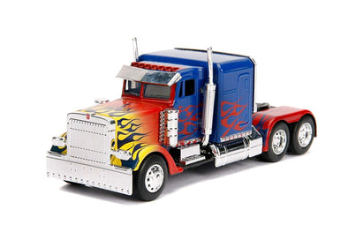 Jada Toys Transformers 1/32 : Movie Hollywood Rides Series - Optimus Prime Truck - Nerd Arena