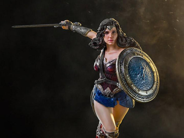 Justice League Wonder Woman 1/10 Art Scale Statue - Nerd Arena