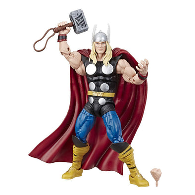 "Marvel Comics 80th Anniversary Legends Series 6""-Scale Vintage Comic-Inspired Thor Collectible Action Figure - Nerd Arena"