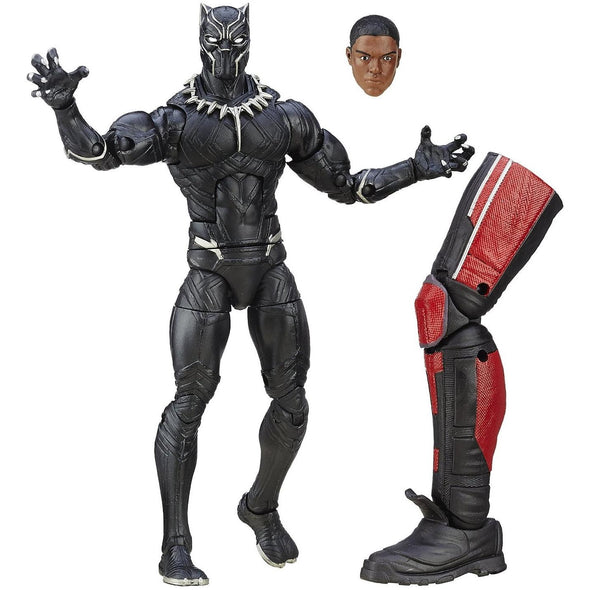 MARVEL LEGENDS CAPTAIN AMERICA CIVIL WAR: BLACK PANTHER FIGURE BY HASBRO - Nerd Arena