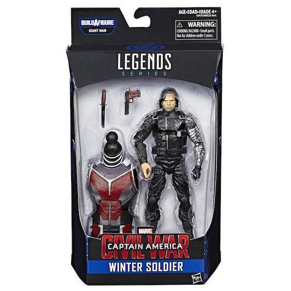 MARVEL LEGENDS CAPTAIN AMERICA CIVIL WAR: WINTER SOLDIER FIGURE BY HASBRO - Nerd Arena