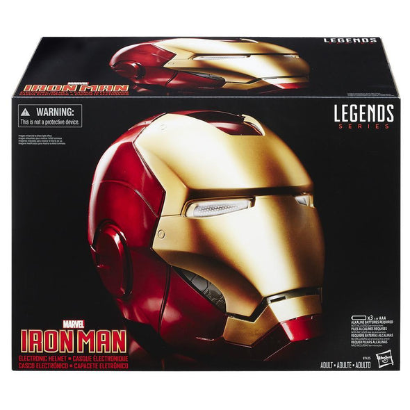 MARVEL LEGENDS IRON MAN ELECTRONIC HELMET - Nerd Arena