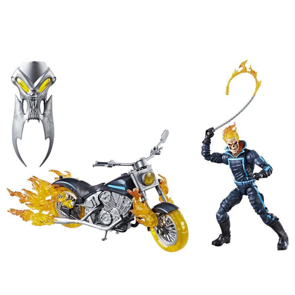 MARVEL LEGENDS SERIES 6-INCH GHOST RIDER WITH FLAME CYCLE - Nerd Arena