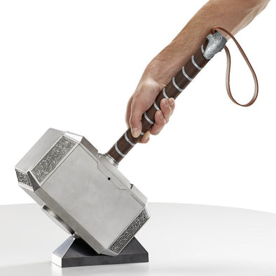 MARVEL LEGENDS SERIES MJOLNIR ELECTRONIC HAMMER - Nerd Arena