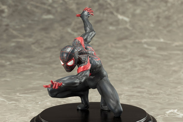 Marvel Now! ArtFX+ Kotobukiya THE AMAZING SPIDER-MAN MILES MORALES 1/10 scale - Nerd Arena