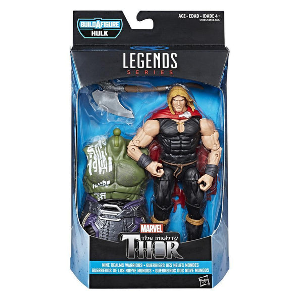 MARVEL THOR LEGENDS SERIES 6-INCH NINE REALMS WARRIORS (ODINSON) - Nerd Arena