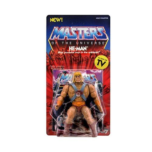 Masters of the Universe Vintage He-Man 5 1/2-Inch Action Figure - Nerd Arena
