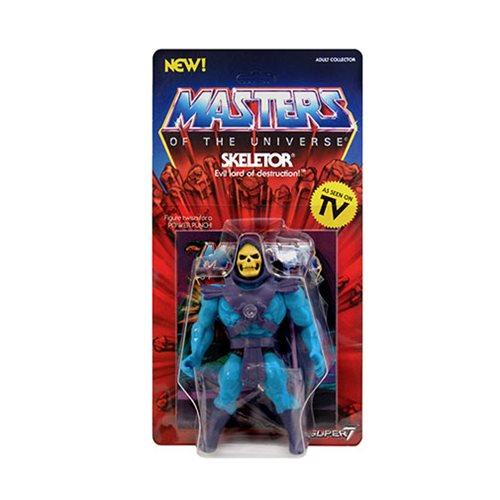 Masters of the Universe Vintage Skeletor 5 1/2-Inch Action Figure - Nerd Arena