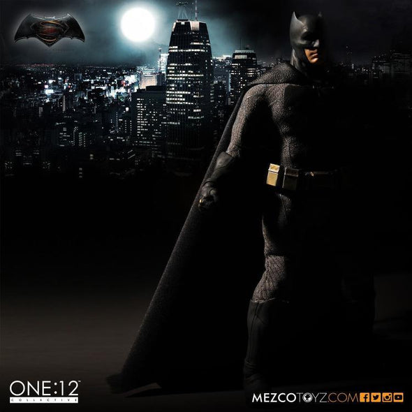 Mezco Batman v Superman: Dawn of Justice Batman 1:12 Collective Action Figure - Nerd Arena