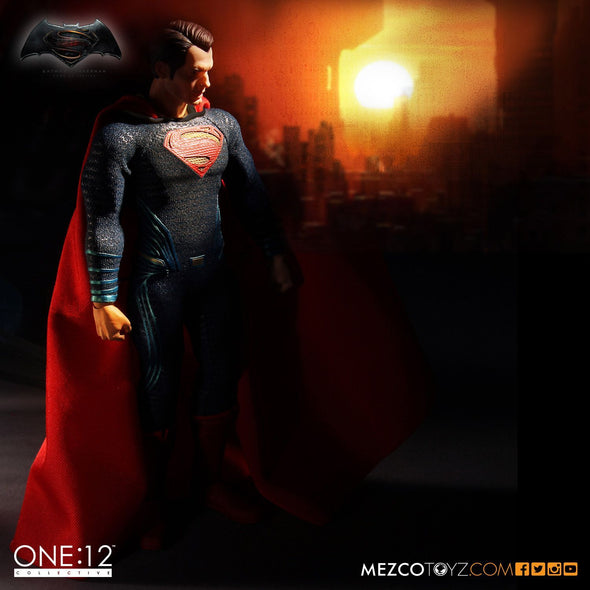Mezco Batman v Superman: Dawn of Justice Superman One:12 Collective Action Figure - Nerd Arena
