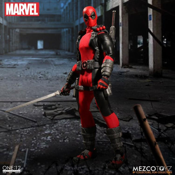 Mezco Marvel One:12 Collective Deadpool Action Figure - Nerd Arena