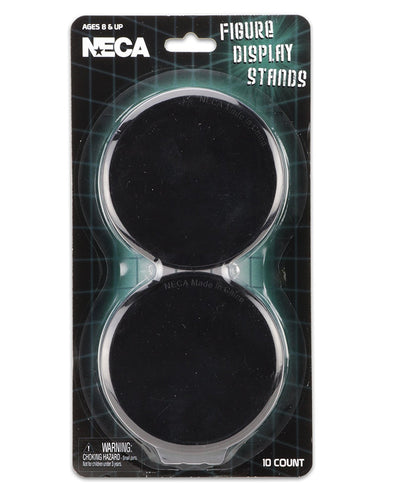 NECA - Action Figure Display Stands, Black (Set of 10 in Blister) - Nerd Arena