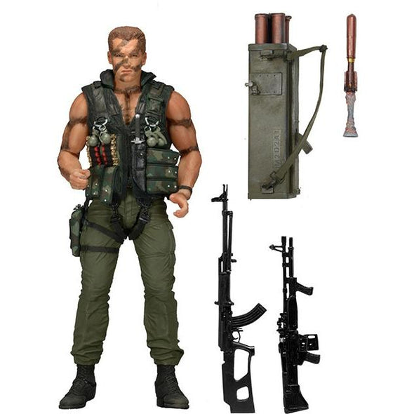 NECA Commando Scale 30th Anniversary Ultimate John Matrix Action Figure, 7 Inch - Nerd Arena