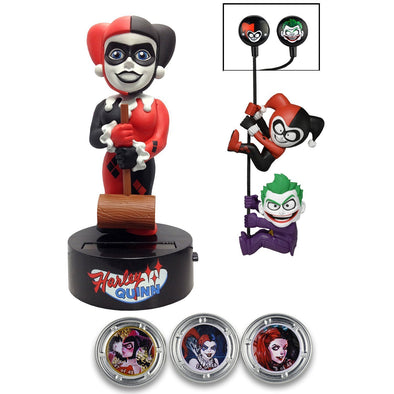 Neca Dc Comics Harley Quinn Limited Edition Gift Set (Body Knocker/Scalers/Earbuds & Hubsnaps) - Nerd Arena