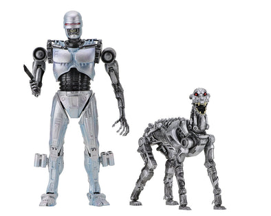 NECA - RoboCop vs The Terminator - EndoCop/Terminator Dog 2-Pack - Nerd Arena