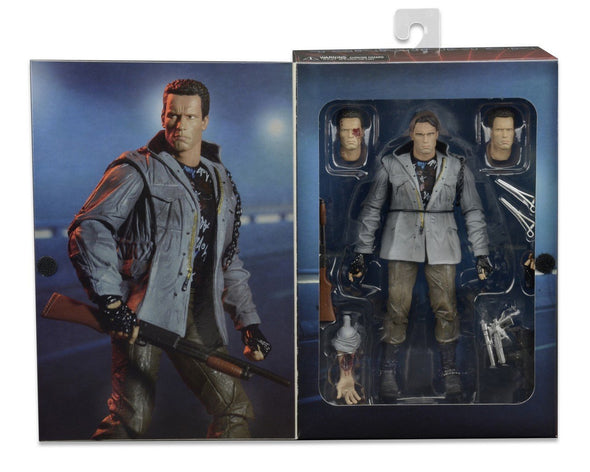 "NECA Terminator Scale Ultimate T800 Tech Noir Action Figure, 7"" - Nerd Arena"