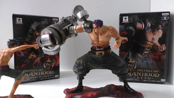 One Piece DXF Manhood Monkey. D. Luffy & Zetto - Nerd Arena