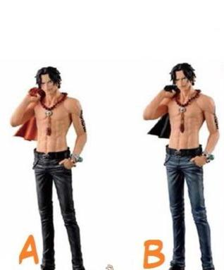 One Piece Jeans Freak Figure Vol. 12 Portgas D. Ace (A) & (B) - Nerd Arena