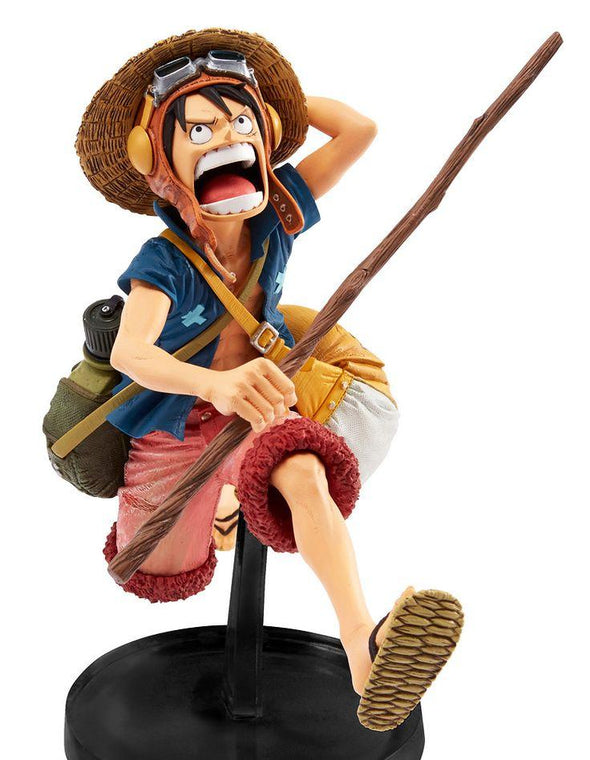 One Piece SCultures Moulding King Showdown 4 Vol. 1 Monkey. D. Luffy (Strong World Ver) - Nerd Arena