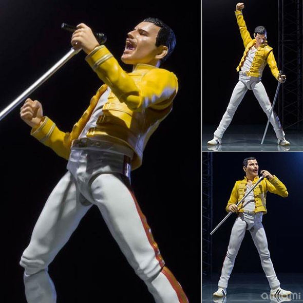 Queen Freddie Mercury SH Figuarts Action Figure - Nerd Arena