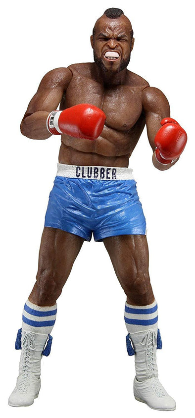 "Rocky 3 Clubber Lang 40th Anniversary Series 1 Mr. T Blue Shorts 7"" Figure NECA - Nerd Arena"